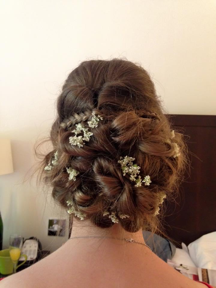 wedding hair great barr